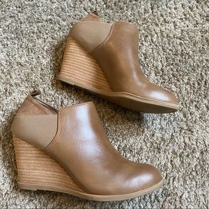 Dr. Scholl's tan booties